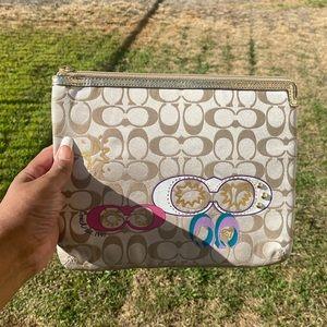 COACH mini I pad case , NEW